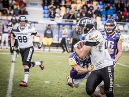 Jan Štiegler wide receiver Prague Black Panthers
