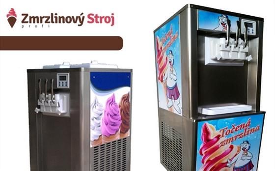V létě je osvědčeným lákadlem na zákazníky točená zmrzlina