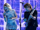 Carrie Underwood a Keith Urban (Grammy Awards, Los Angeles, 12. února 2017)