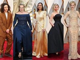 Móda z Oscarů  trapas se Streepovou a spousta luxusních značek ... 899ef6be5c7