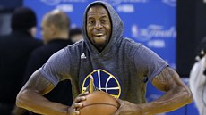 Andre Iguodala na tréninku Golden State Warriors