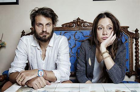 Petr Klein Svoboda a jeho manželka Lucia Klein Svoboda