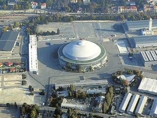 Dominantou areálu brněnského výstaviště je pavilon Z.