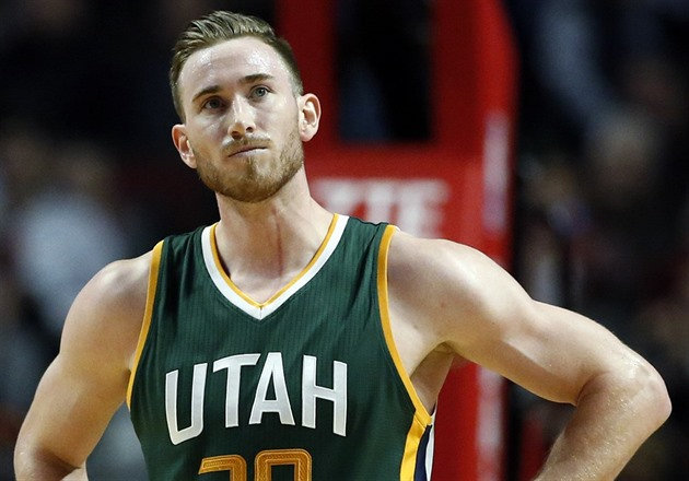 Gordon Hayward z Utahu