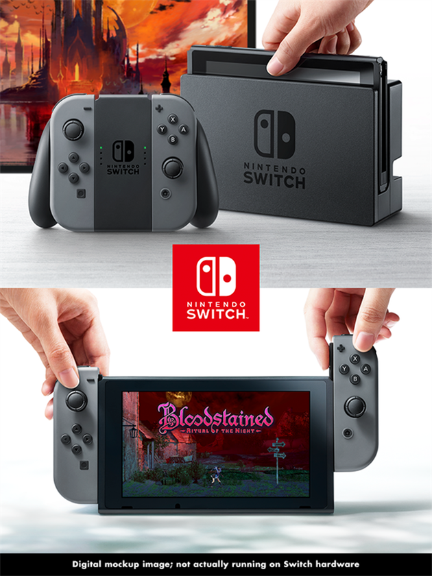 Bloodstained: Ritual of the Night na Switch
