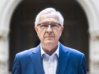 Předseda Akademie věd a možný prezidentský kandidát Jiří Drahoš na snímku z...