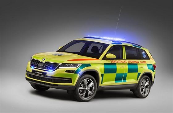 Škoda Kodiaq v úpravě pro záchranáře