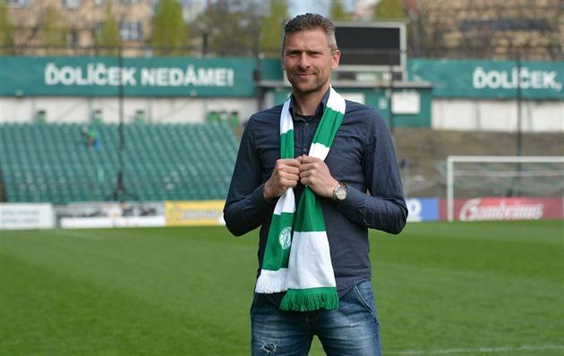 O novo treinador Bohemians tornou-se Hašek, substituiu Koubka