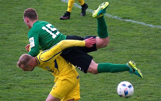 Olomouc conseguiu em Zizkov, os futebolistas Ostrava atraiu em Budějovice
