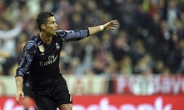 Ronaldo marcou pela primeira vez 100 gols europeus na história. Ótimo, ele relatou