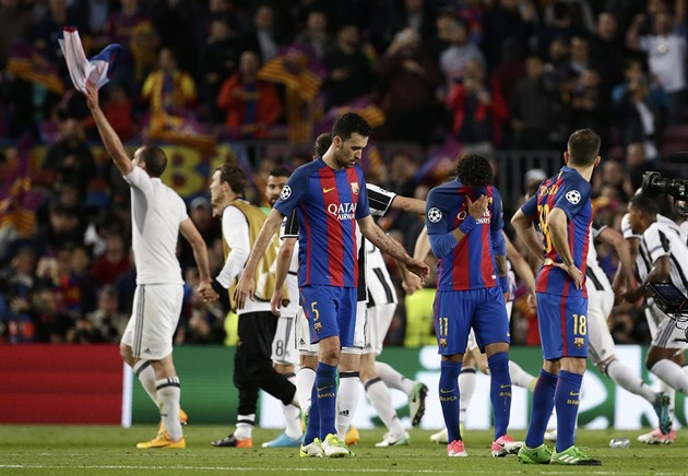 O milagre não acabou, Barcelona termina. Mônaco está avançando com a Juventus
