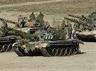 """Cvičení """"Mobilizace 2017"""". Ostrými tankovými střelbami na Libavé vyvrcholily..."""