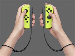 Joy-Con - varianta Neon Yellow