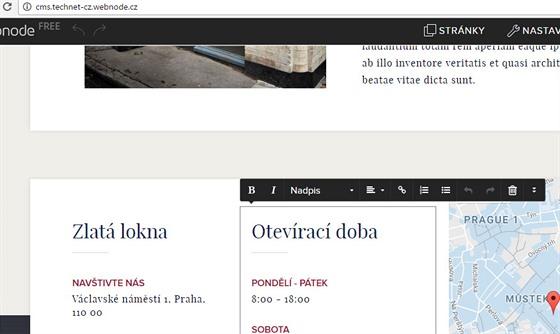 webové stránky zdarma pro armádu