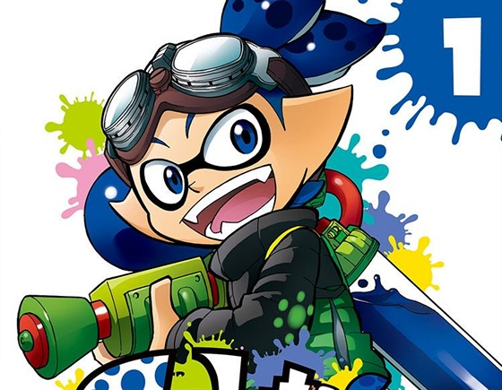 Manga Splatoon