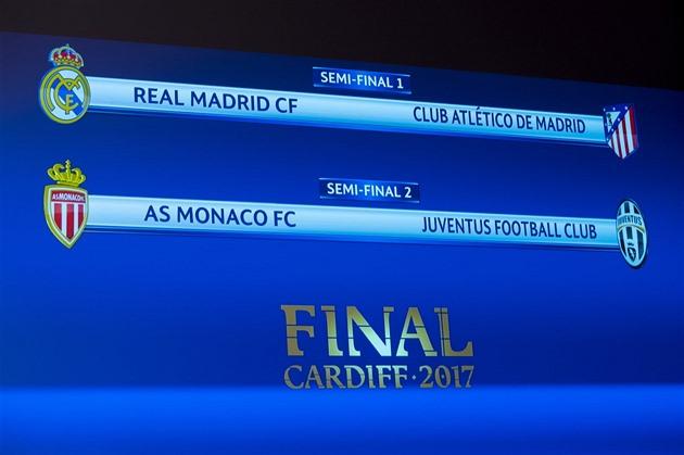 Los Ligy Mistrů: Semifinále Ligy Mistrů: Madridské Derby A Souboj Monaka S
