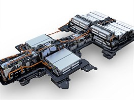 MEB modular platform for vehicles with electrified drive