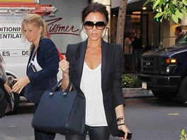 Také módní ikona Victorie Beckhamová si legíny zamilovala. 22cc32bc67
