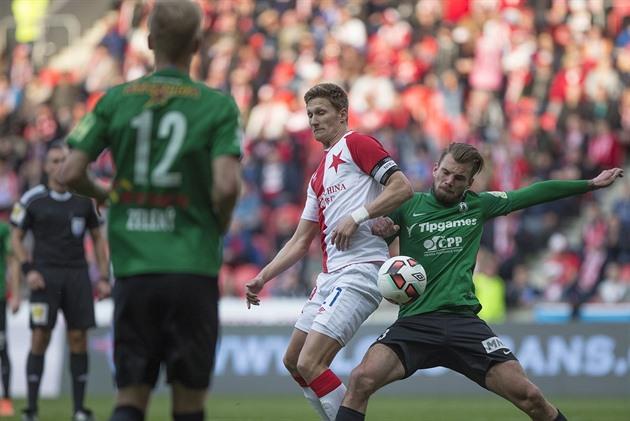 Slavia não tem título em suas mãos novamente. Trumfy está segurando Pilsen