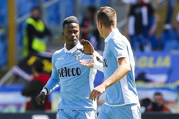Schick jugó solo 20 minutos y Sampdoria consiguió siete goles de Lazio Roma