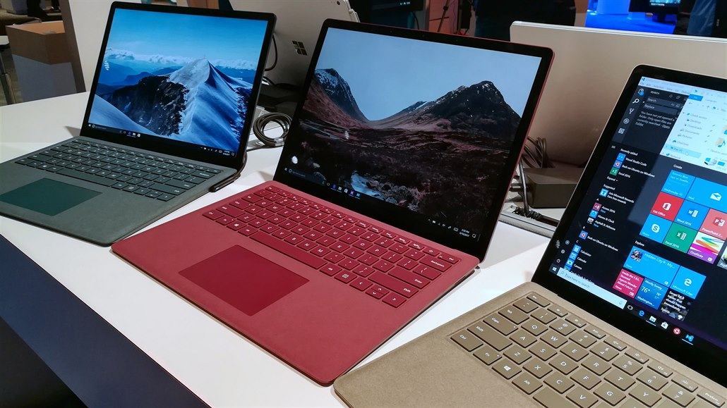 Nový Microsoft Surface Laptop