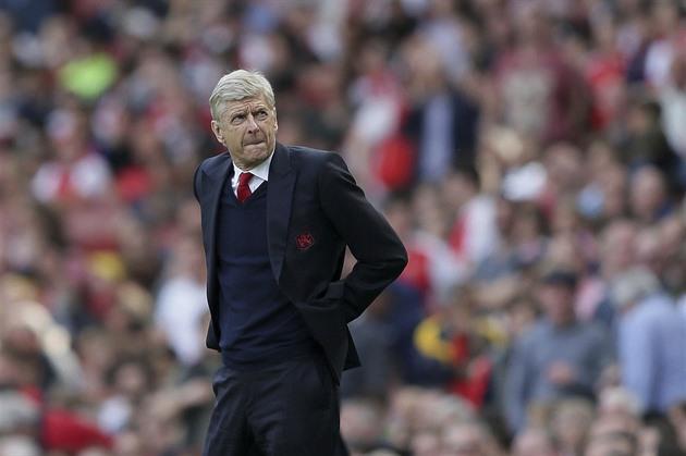 Una vez que explique por qué fallamos, dijo Wenger. Probablemente se quede en el Arsenal