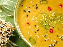 Pikantní karotková polévka