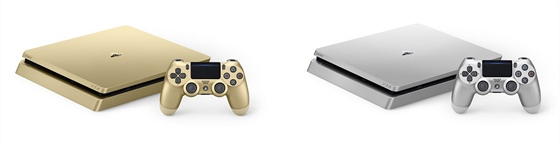 PlayStation 4 - Gold a Silver