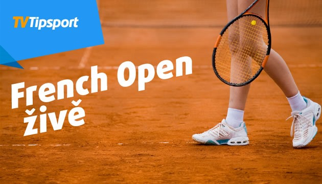 Sledujte French Open na TV Tipsport živě a vsaďte si.