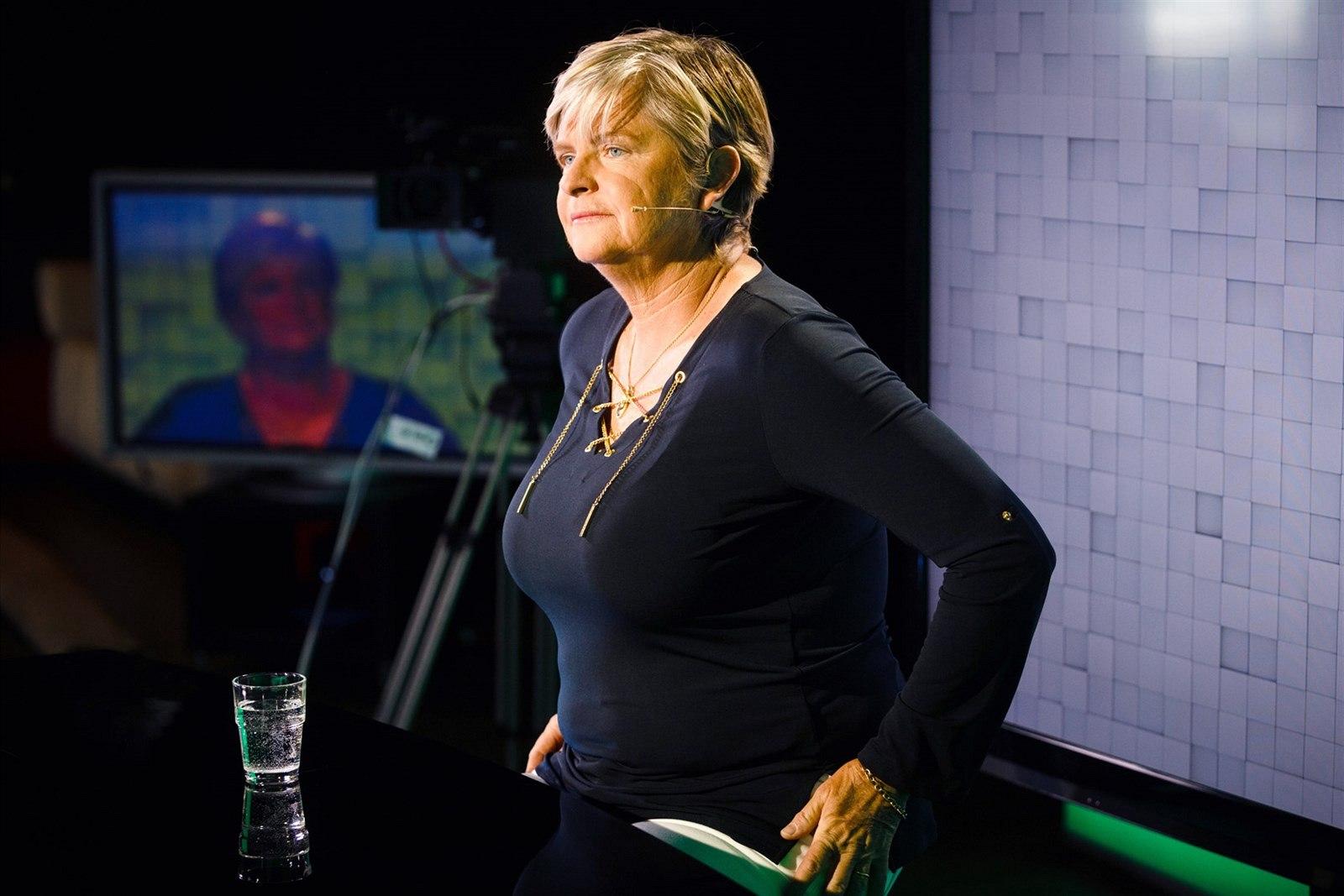 Fotogalerie B½valá tenistka Hana Mandlková v diskusnm pořadu
