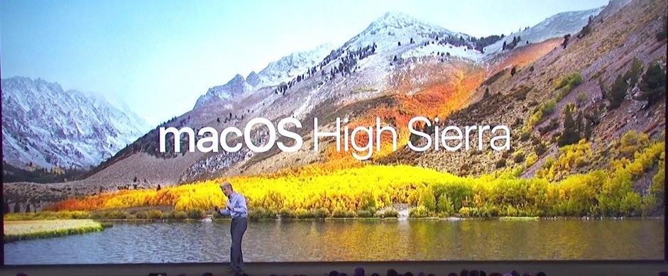 os x high sierra requirements