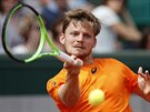 David Goffin returnuje v 3. kole Roland Garros.