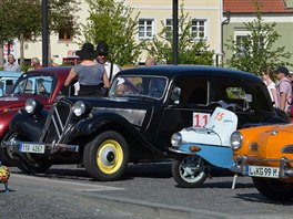 Citroën Traction Avant typ 1, Oldtimer Bohemia Rally 2017