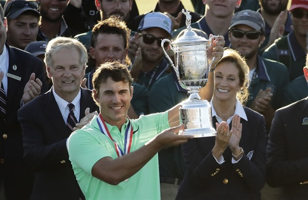 Brooks Koepka po triumfu na US Open.