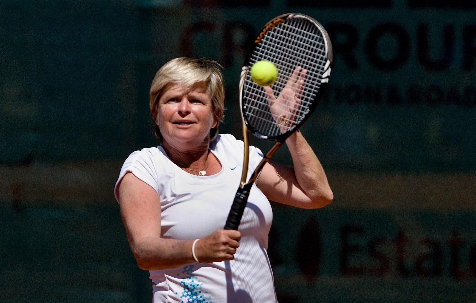 Fotogalerie Legendárn tenistka Hana Mandlková na exhibici ve