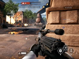 Hraní Star Wars Battlefront
