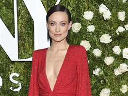 Olivia Wilde na Tony Awards (New York, 11. června 2017)