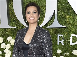 Lea Salonga na Tony Awards (New York, 11. června 2017)