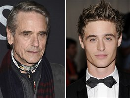 Jeremy Irons a jeho syn Max Irons