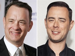 Tom Hanks a jeho syn Colin Hanks