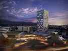 Hotel Clarion v roce 2020.