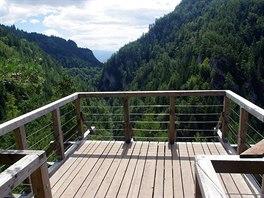 Vyhlídková terasa Malý Roháč