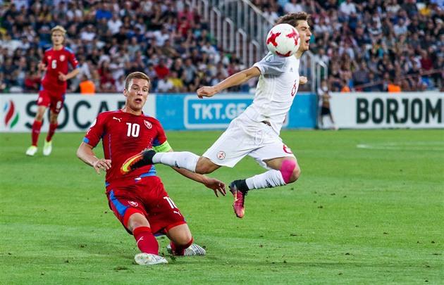 La jeunesse tchèque a battu domicile en Géorgie et est en demi-finale du Championnat d'Europe de moins de 19 ans