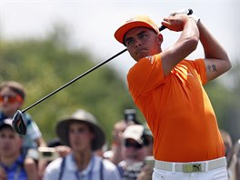 Rickie Fowler na turnaji Quicken Loans National.