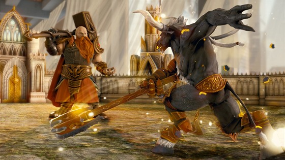 Obrázky ze zrušeného Might & Magic SHOWDOWN