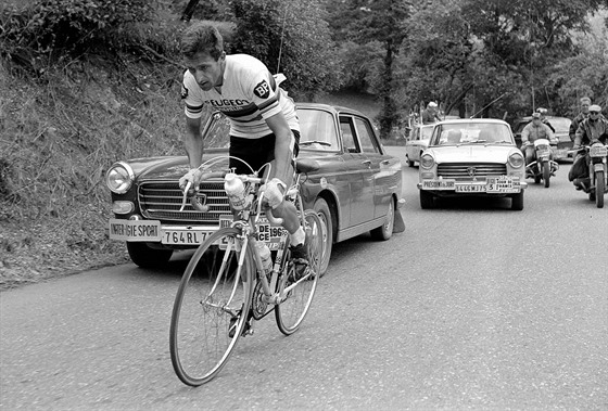 Tom Simpson na Tour de France v roce 1960