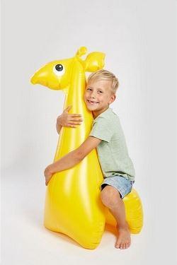 Moře Nafukovací sedací hračky - Žirafa.