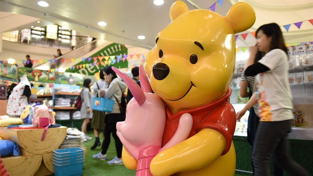 Čínští cenzoři loví medvídka Pú 658fd3c2400