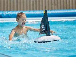 Nafukovací lodička - Piráti.