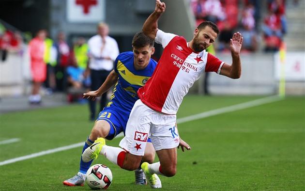 Slavia – Borisov 1: 0, erzielte Škoda Tor, dann wurden die Heimchancen eliminiert